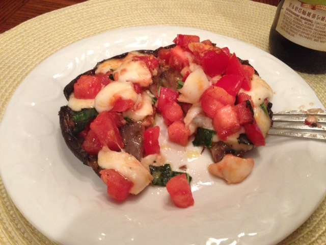 Stuffed Portobello.4.8.15