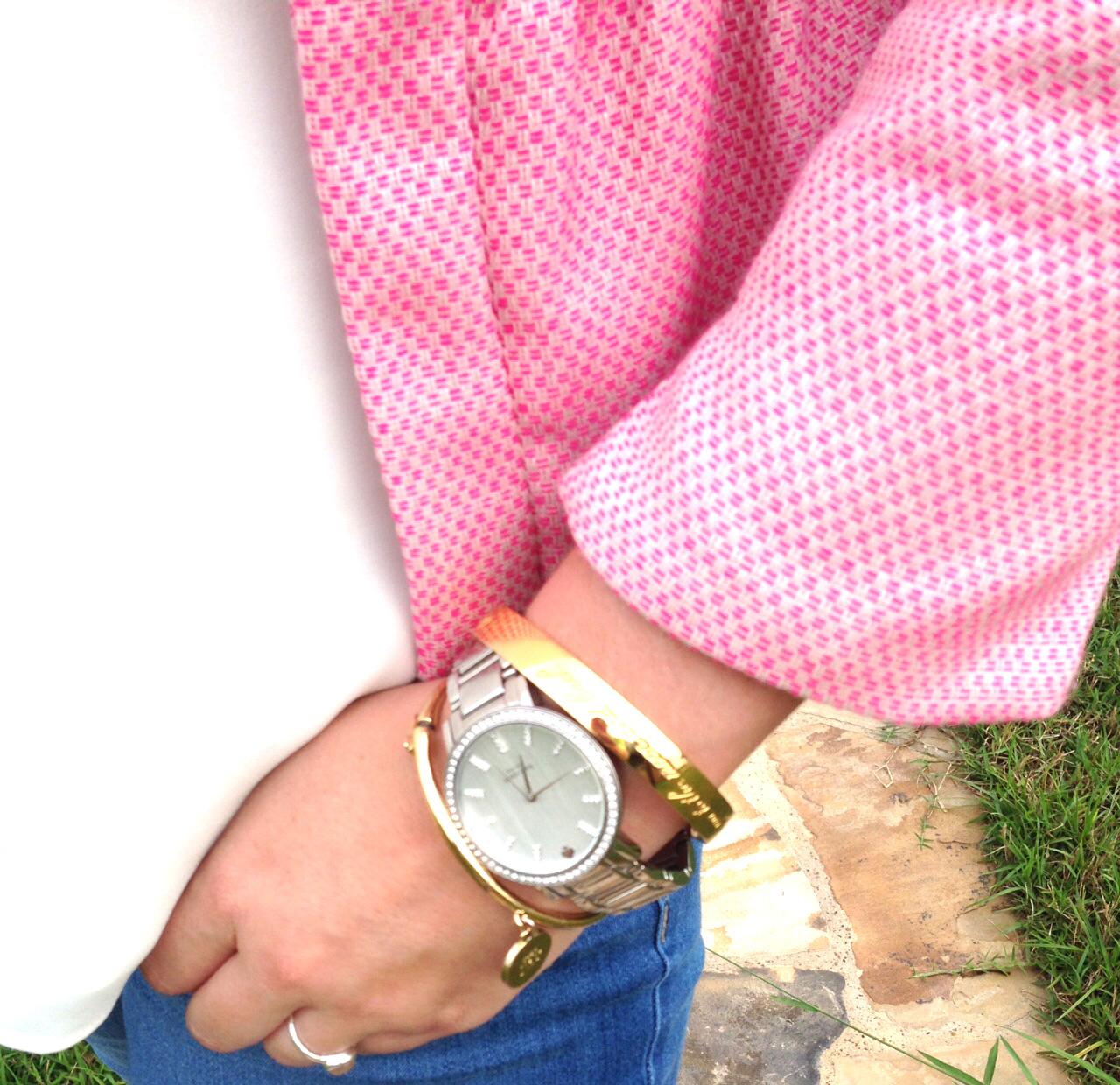Pink Peplum Jacket 2