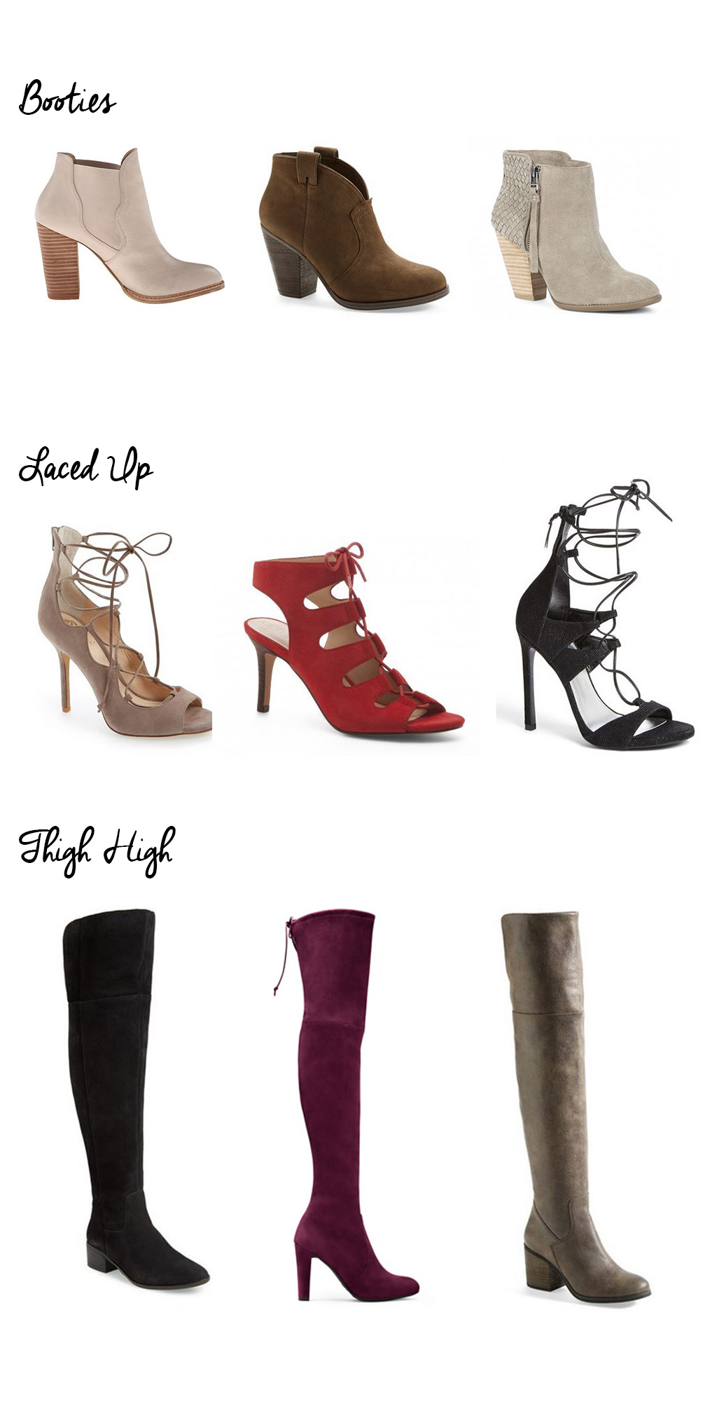 Fall Shoe Trends 2015