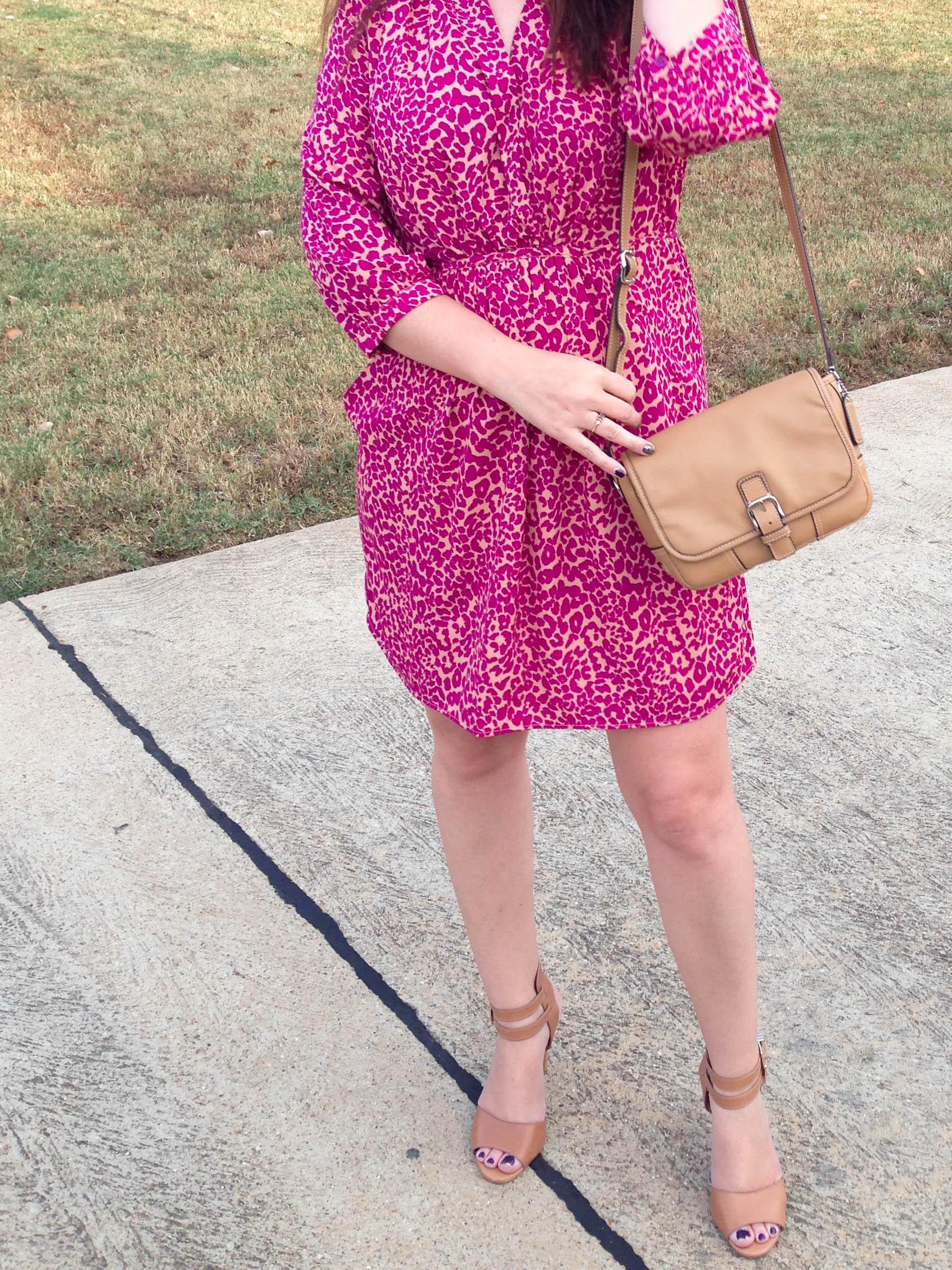 Pink Leopard.Bag