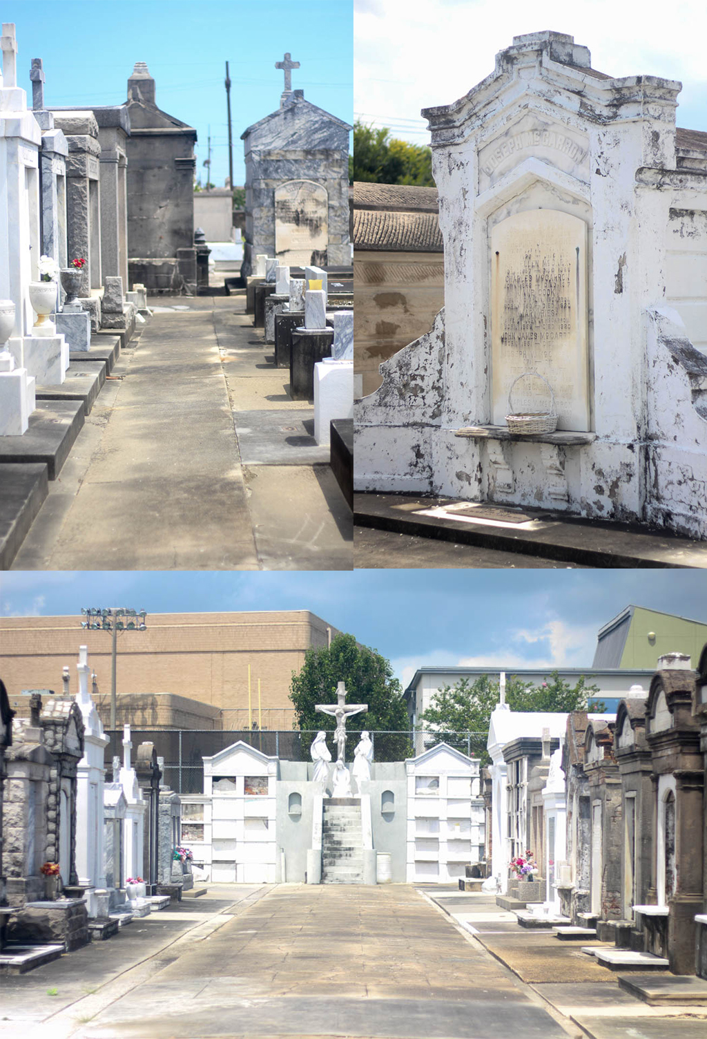 Cemetery Collage