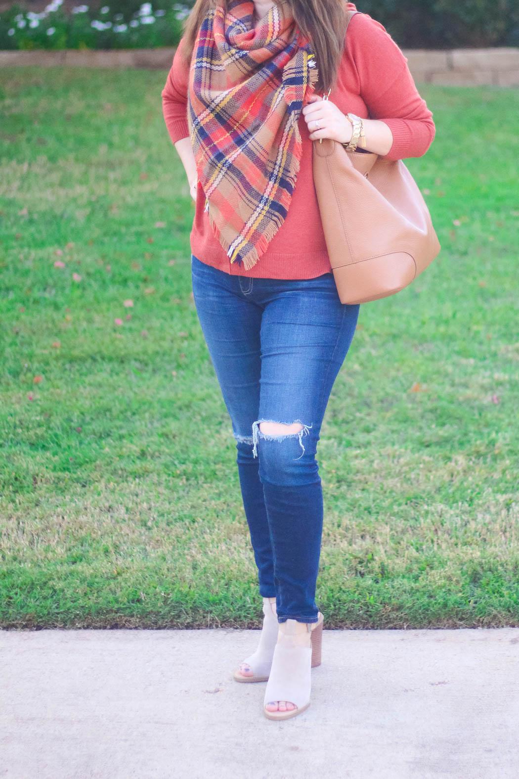 2-haute-hydrangea-leith-rust-sweater-bp-blanket-scarf-marc-fisher-booties