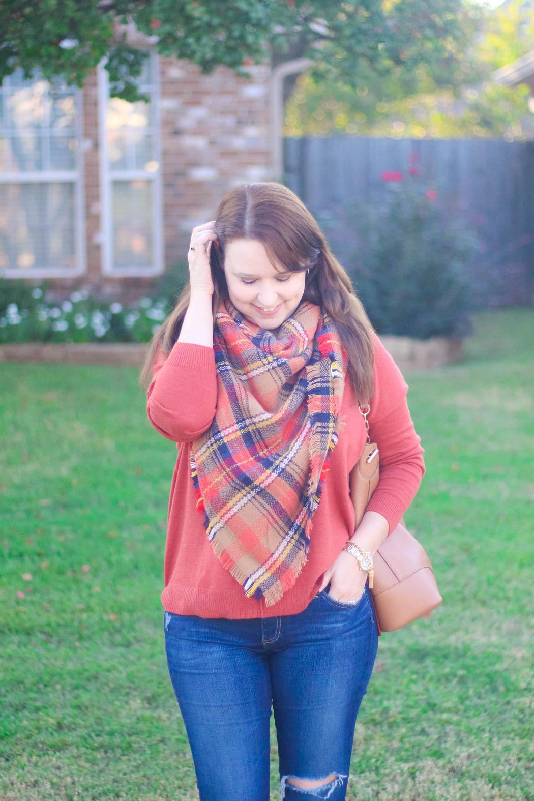8-haute-hydrangea-leith-rust-sweater-bp-blanket-scarf-marc-fisher-booties