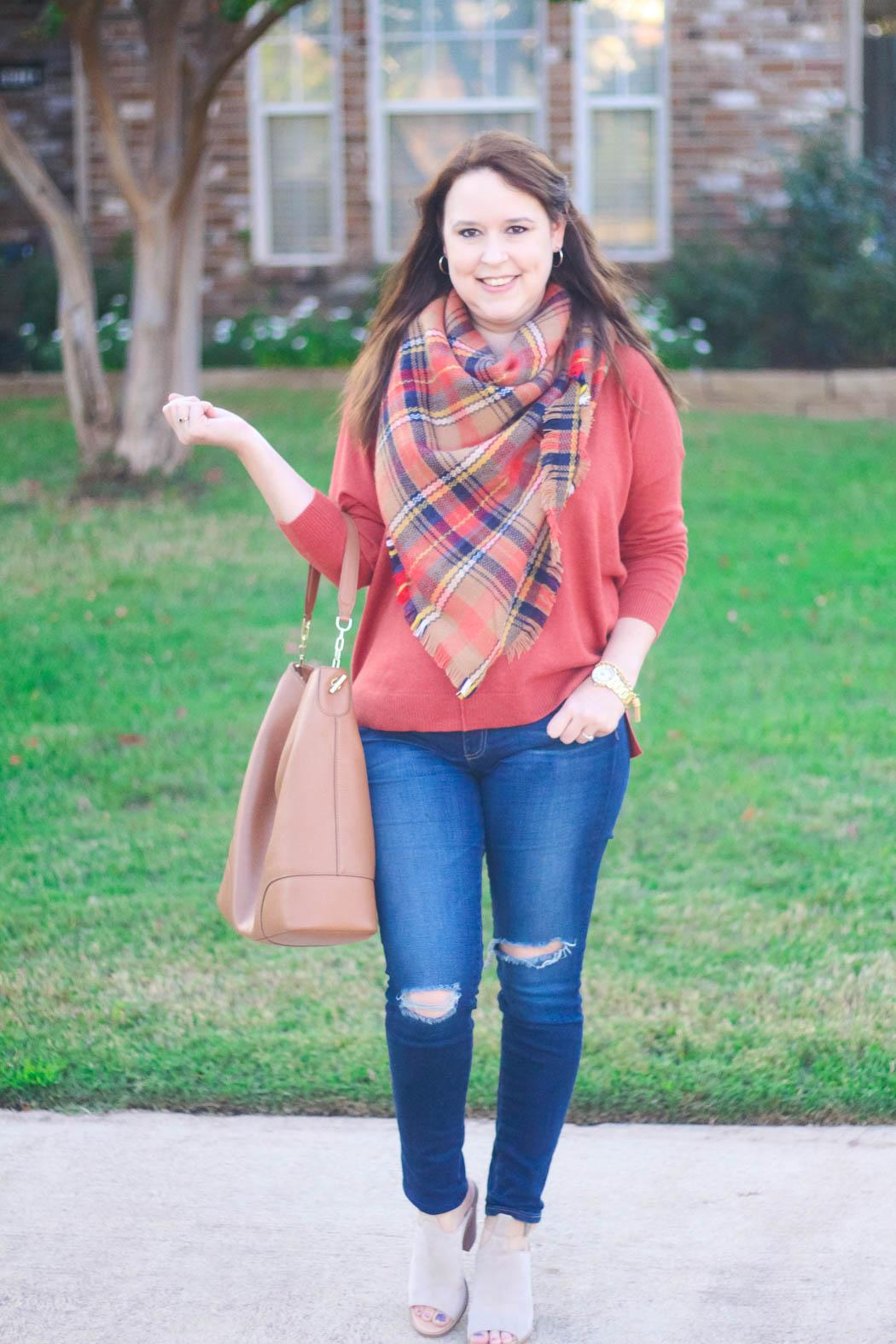 9-haute-hydrangea-leith-rust-sweater-bp-blanket-scarf-marc-fisher-booties