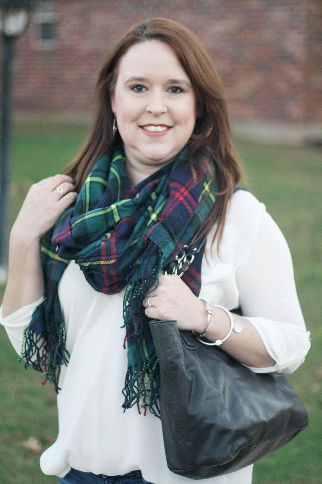 target-scarf-lush-tunic-ag-jeans-coach-bag-charles-david-booties-3