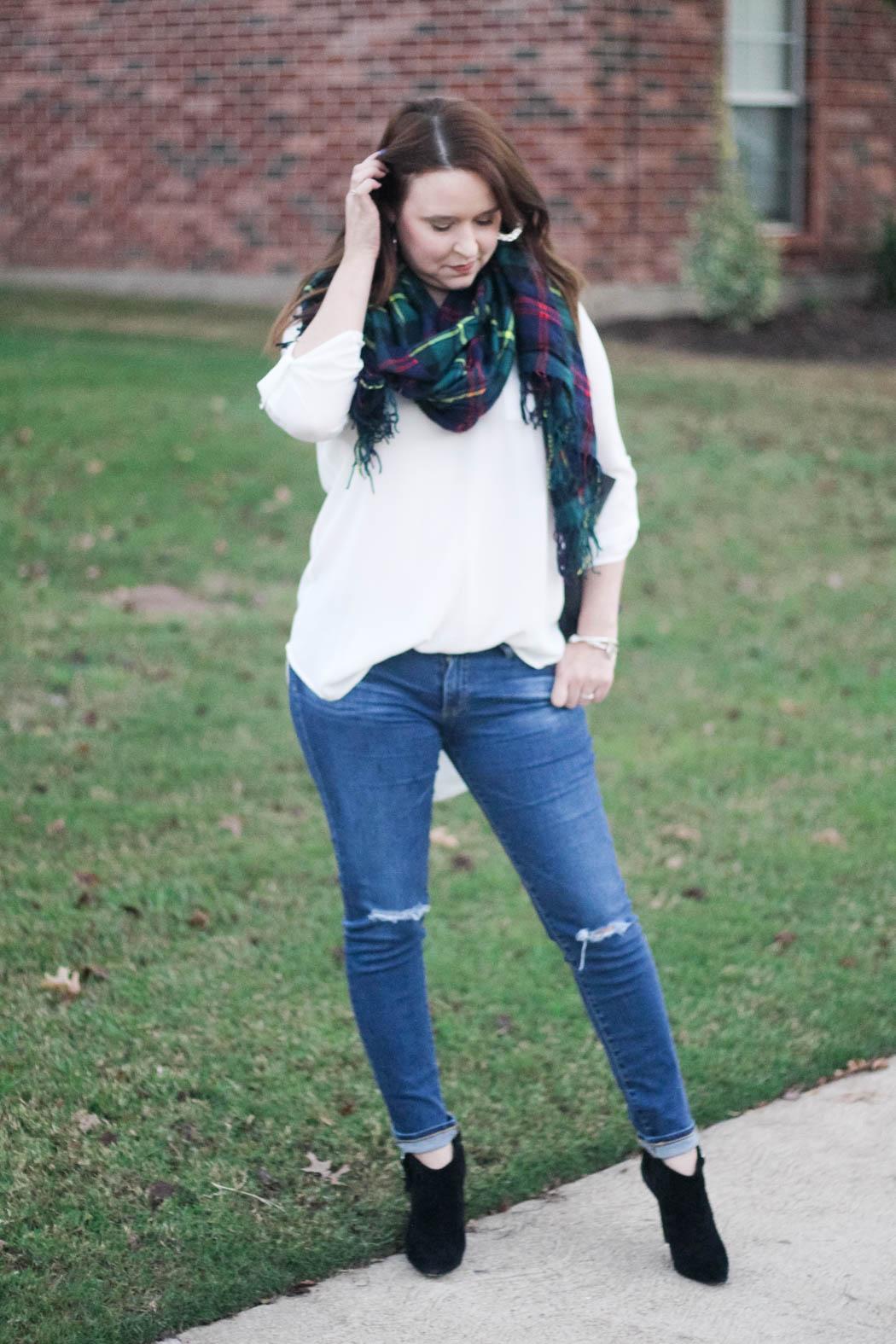 target-scarf-lush-tunic-ag-jeans-coach-bag-charles-david-booties-4