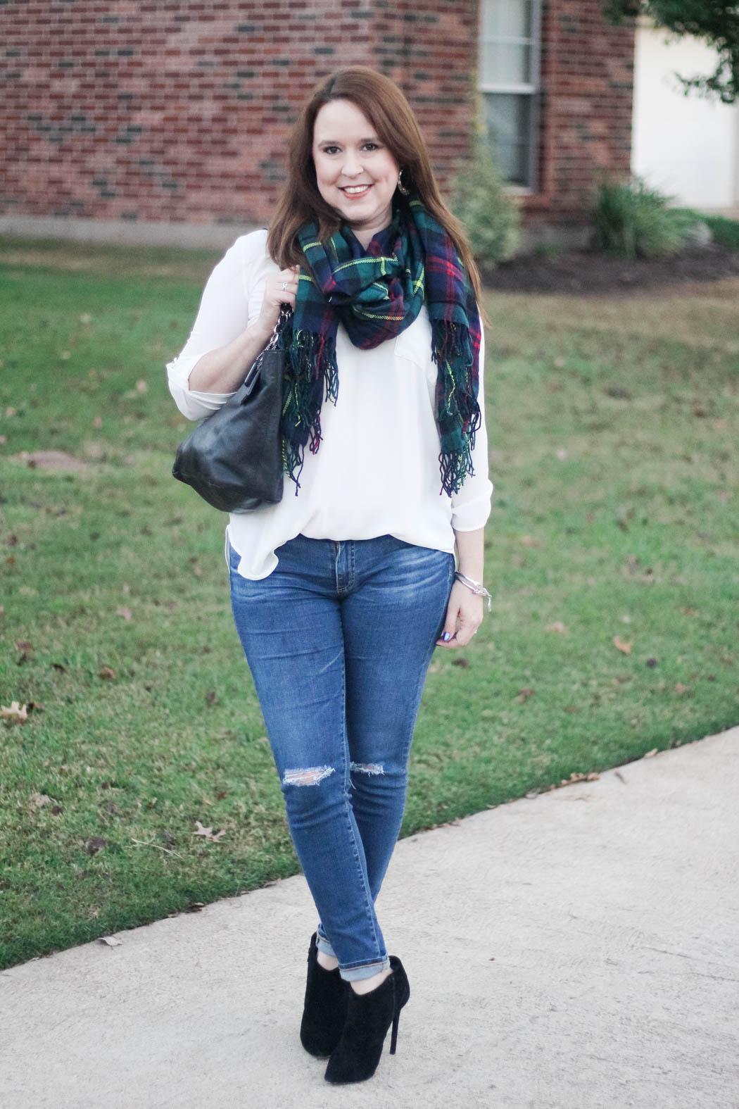 target-scarf-lush-tunic-ag-jeans-coach-bag-charles-david-booties-6