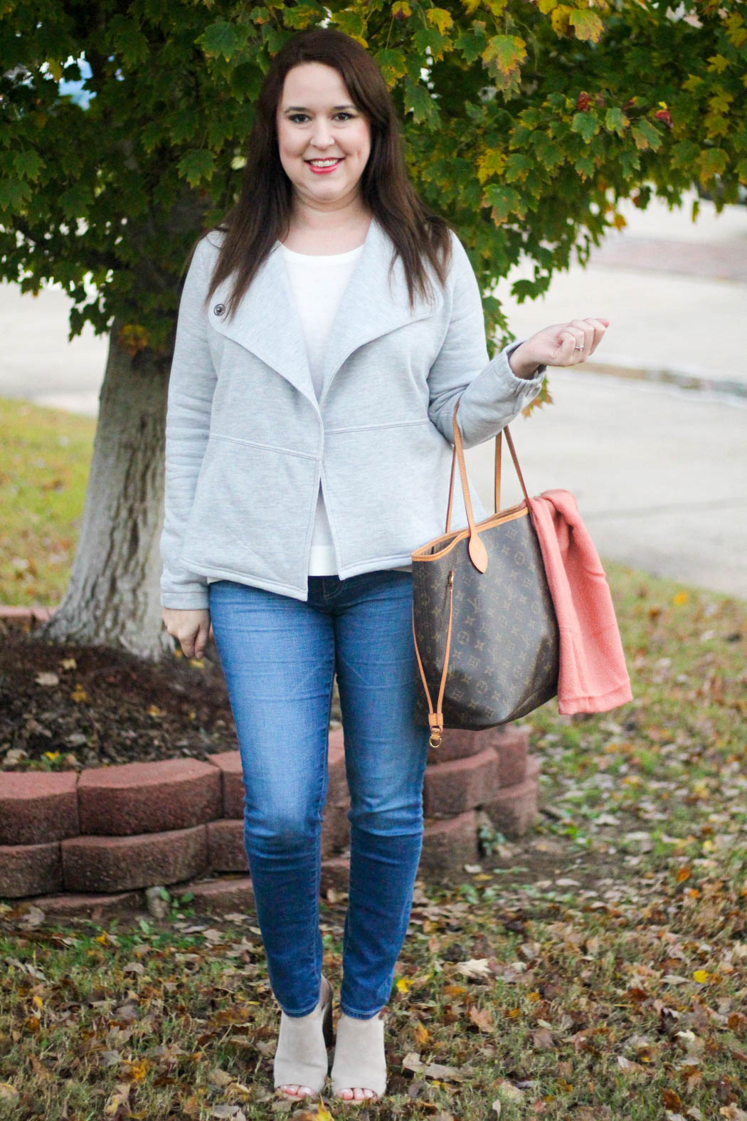 loft-jacket-and-sweater-ag-jeans-lv-neverfull-hinge-scarf-marc-fisher-booties-1