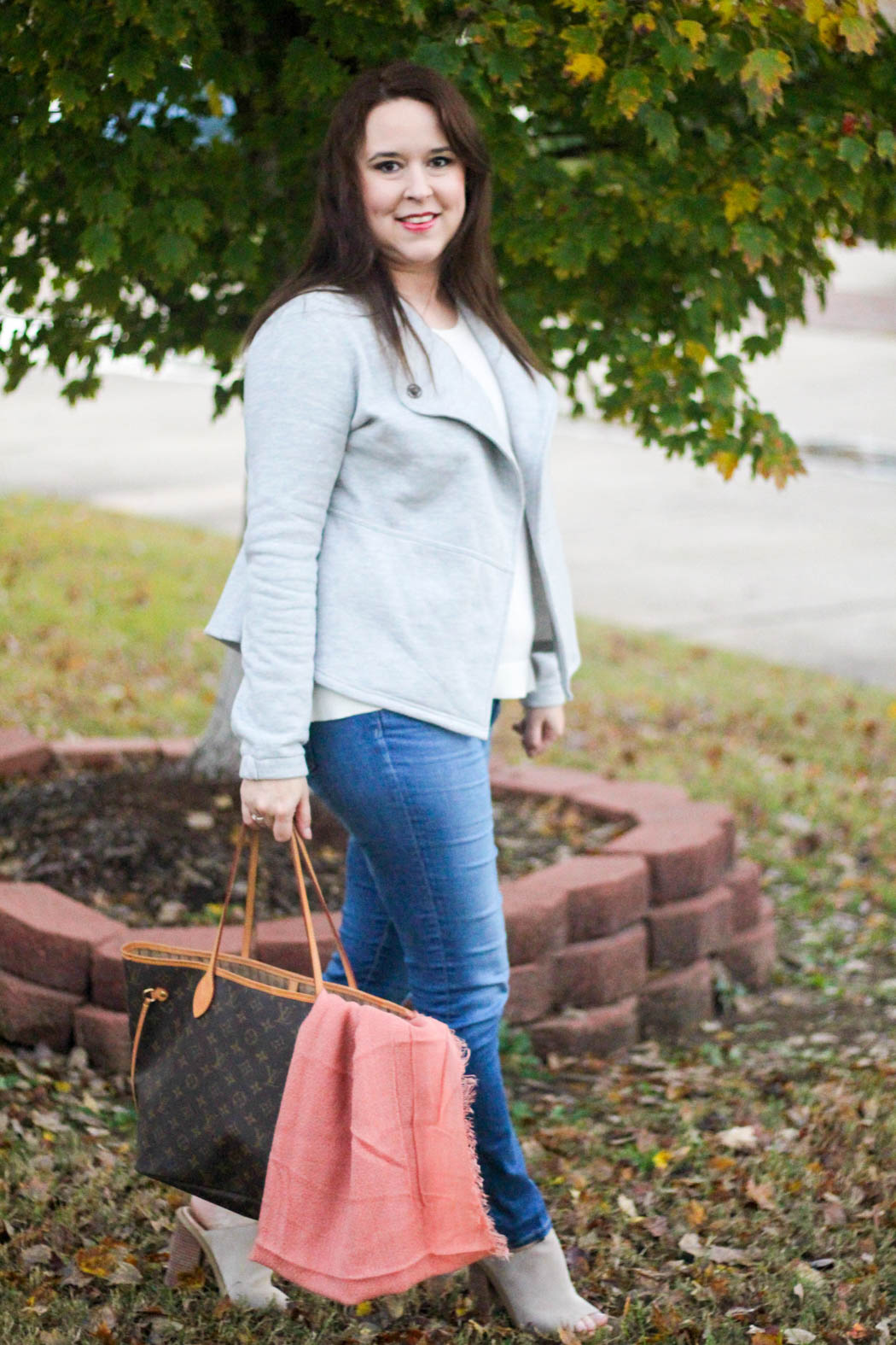 loft-jacket-and-sweater-ag-jeans-lv-neverfull-hinge-scarf-marc-fisher-booties-3