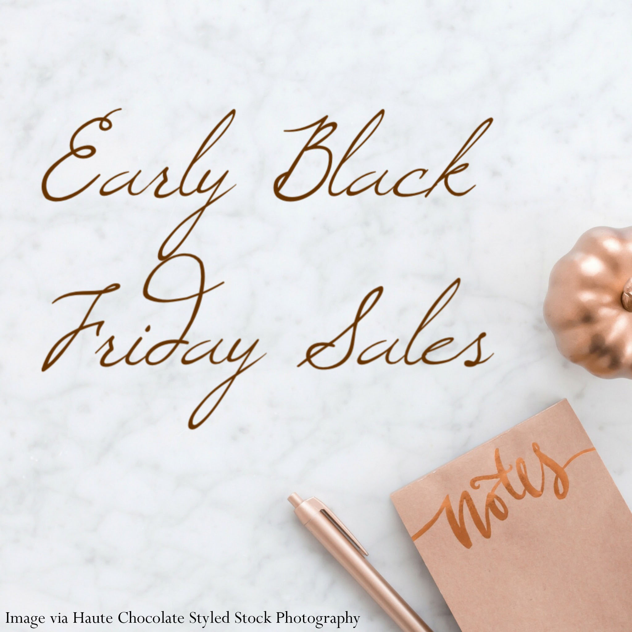early black friday sales