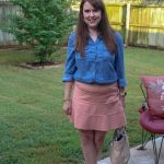 Styling a Chambray Shirt for Work